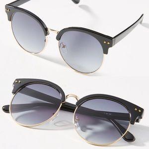 Anthropologie Round Clubmaster Sunglasses 🕶